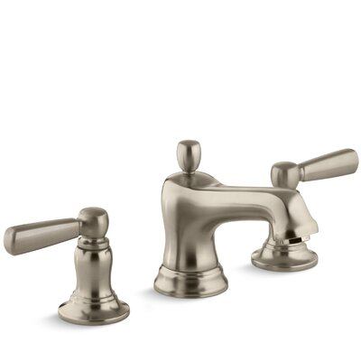 Bancroft Widespread Bathroom Sink Faucet with Metal Lever Handles Finish: Vibrant Brushed Bronze