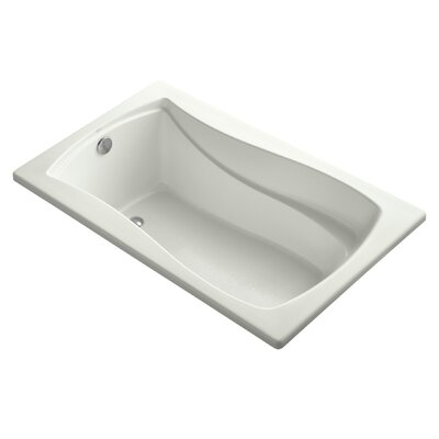 Mariposa 60 x 36 Soaking Bathtub Finish: Dune