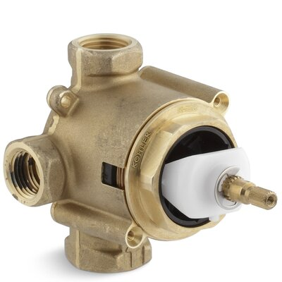 Mastershower 3/4 In-Wall 2- or 3-Way Transfer Valve