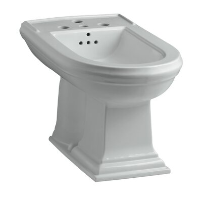 Memoirs Vertical Spray Bidet with 4 Faucet Holes Finish: Ice Grey