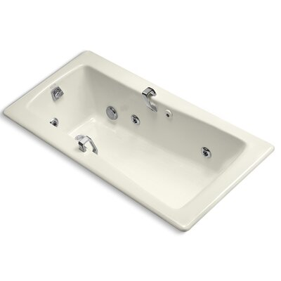 Maestro 66 x 32 Whirlpool Bathtub Finish: Biscuit
