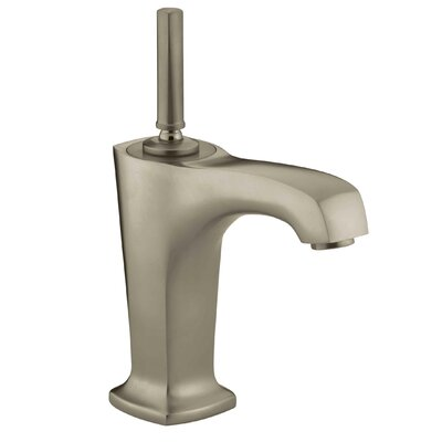 Margaux Single hole Single Handle Bathroom Faucet with Drain Assembly Finish: Vibrant Brushed Bronze