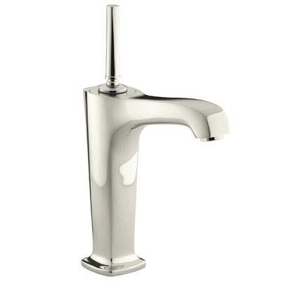 Margaux Single hole Single Handle Bathroom Faucet with Drain Assembly Finish: Vibrant Polished Nickel