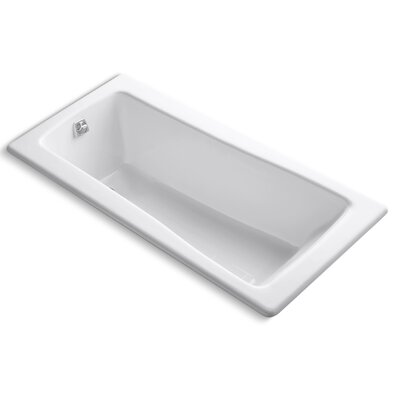 Maestro 66 x 32 Soaking Bathtub Finish: White