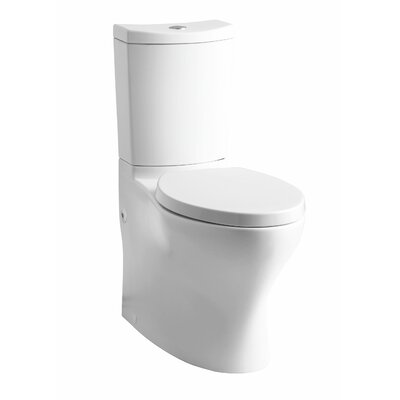 Persuade Comfort Height 2 Piece 1.6 GPF Elongated Toilet Finish: White