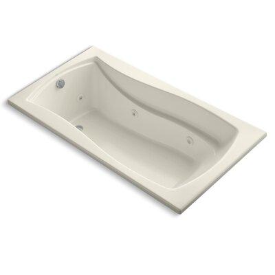 Mariposa 66 x 36 Whirpool Bathtub Finish: Almond