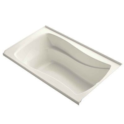 Mariposa 60 x 36 Soaking Bathtub Finish: Biscuit