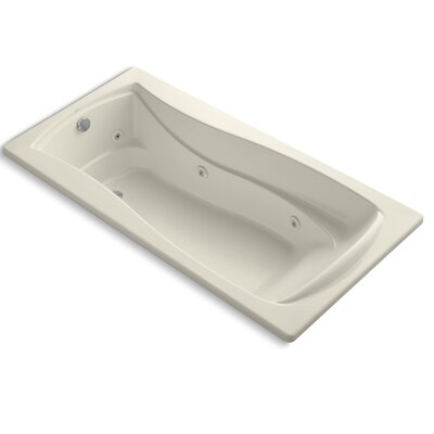 Mariposa 72 x 36 Whirpool Bathtub Finish: Almond