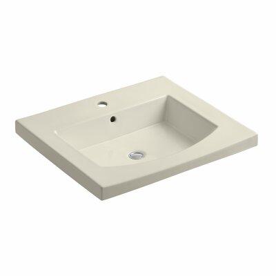 Persuade 25 Single Bathroom Vanity Top Finish: Almond