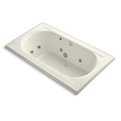 Memoirs 72 x 42 Whirpool Bathtub Finish: Biscuit