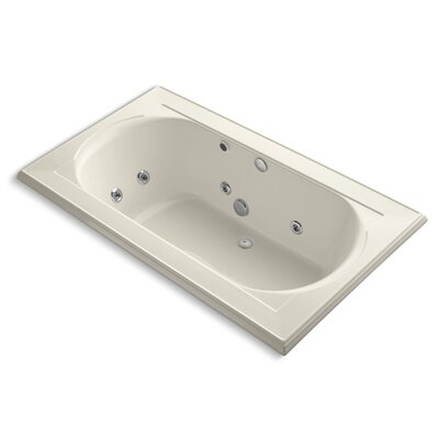 Memoirs 72 x 42 Whirpool Bathtub Finish: Almond