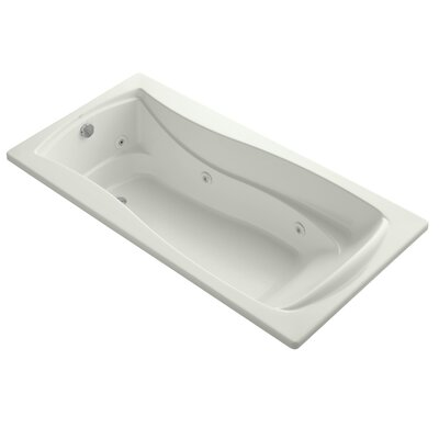 Mariposa 72 x 36 Whirlpool Bathtub Finish: Dune