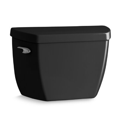 Highline Classic 1.0 GPF Toilet Tank with Left-Hand Trip Lever Finish: Black Black