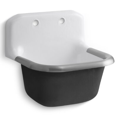 Bannon 24 x 20.5 Single Wall-Mounted or P-Trap Mounted Service Sink