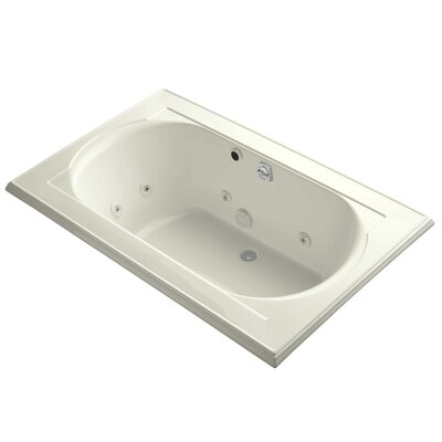Memoirs 66 x 42 Whirlpool Bathtub Finish: Biscuit