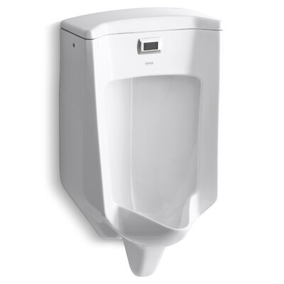 Bardon Touchless Washout Wall-Mount 1/2 GPF Urinal Finish: White