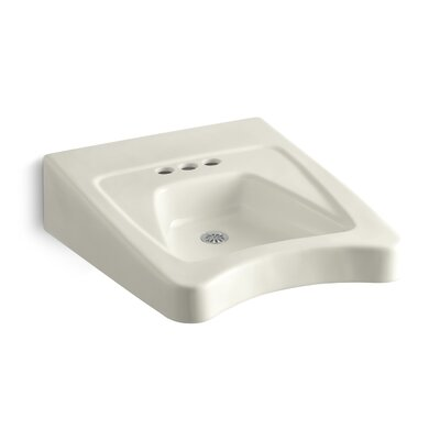 Morningside 20 Wall Mount Bathroom Sink Finish: Biscuit