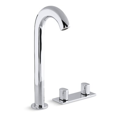 Oblo Tall Widespread Bathroom Sink Faucet Finish: Polished Chrome