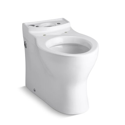 Persuade Elongated Toilet Bowl, Less Seat Finish: White