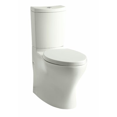 Persuade Comfort Height 2 Piece 1.6 GPF Elongated Toilet Finish: Dune