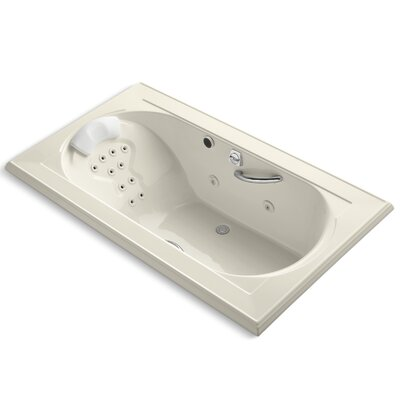 Memoirs 72 x 42 Air / Whirlpool Bathtub Finish: Almond