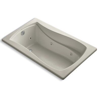 Mariposa 60 x 36 Whirlpool Bathtub Finish: Sandbar