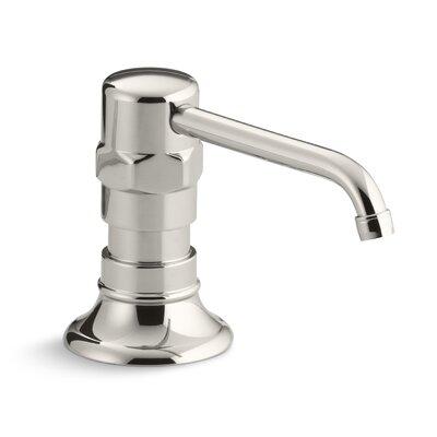 Hirisestainless Soap/Lotion Dispenser Finish: Polished Stainless