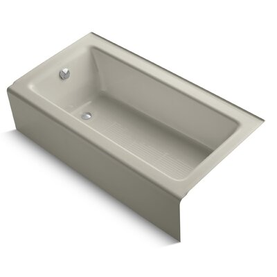 Bellwether Alcove 60 x 32 Soaking Bathtub Finish: Sandbar