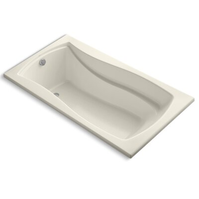 Mariposa 66 x 36 Soaking Bathtub Finish: Almond