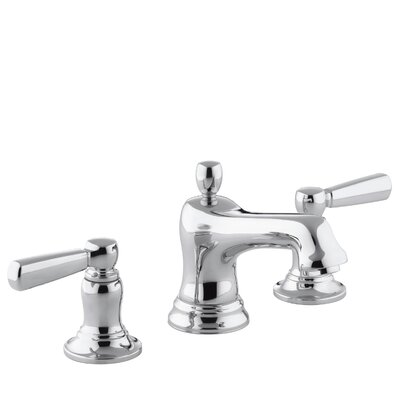 Bancroft Widespread Bathroom Sink Faucet with Metal Lever Handles Finish: Polished Chrome