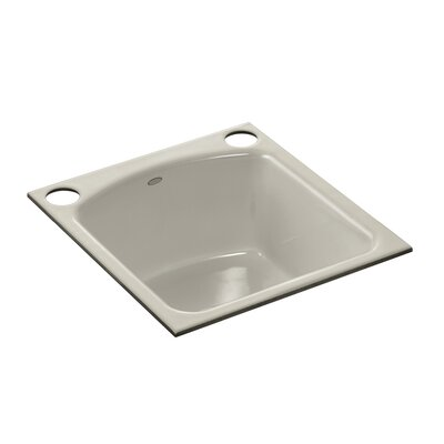Napa Under-Mount Bar Sink with 2 Oversize Faucet Holes Finish: Sandbar