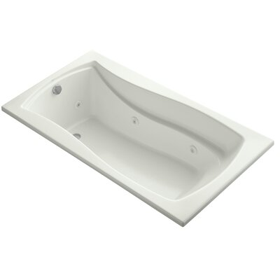Mariposa Alcove 66 x 36 Whirpool Bathtub Finish: Dune