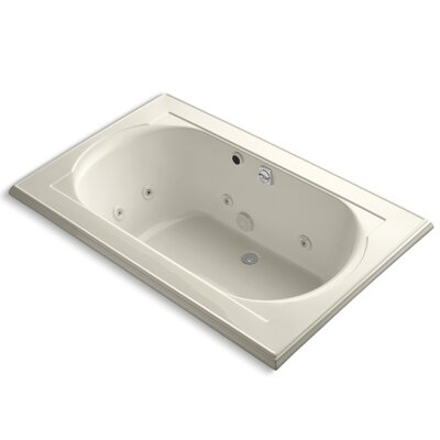 Memoirs 66 x 42 Whirlpool Bathtub Finish: Almond