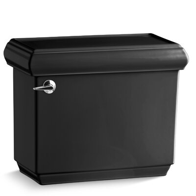 Memoirs Classic 1.28 GPF Toilet Tank Finish: Black Black