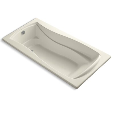 Mariposa 72 x 36 Air Bathtub Finish: Almond