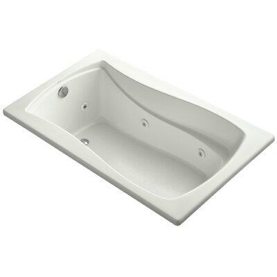 Mariposa 60 x 36 Whirlpool Bathtub Finish: Dune