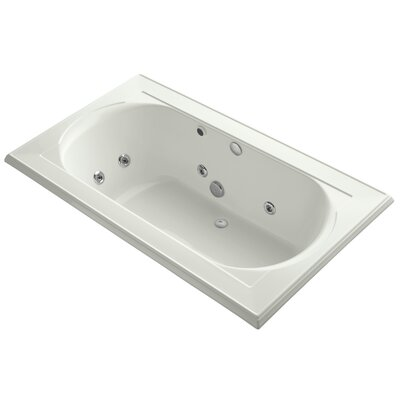 Memoirs 72 x 42 Whirpool Bathtub Finish: Dune