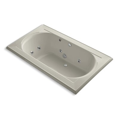 Memoirs 72 x 42 Whirpool Bathtub Finish: Sandbar
