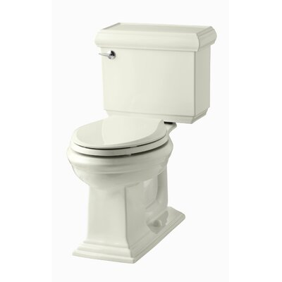 Memoirs Classic Comfort Height Two-Piece Elongated 1.28 GPF Toilet with Aquapiston Flush Technology and Left-Hand Trip Lever Finish: Biscuit