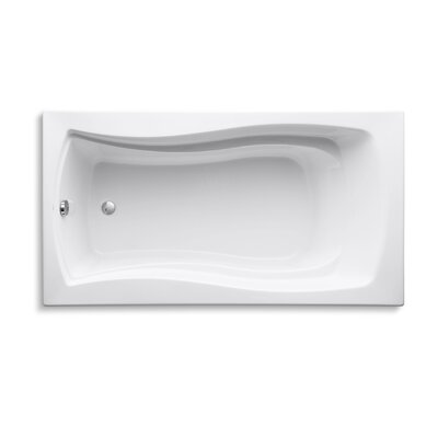 Mariposa 66 x 36 Soaking Bathtub Finish: White