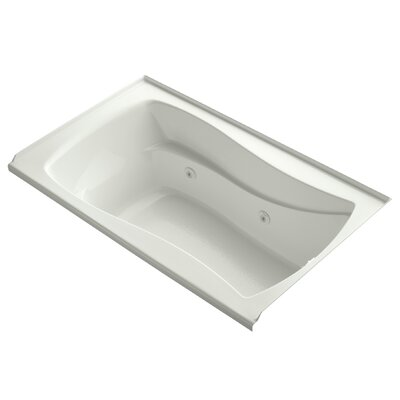 Mariposa 60 x 36 Whirlpool Bathtub Finish: Dune