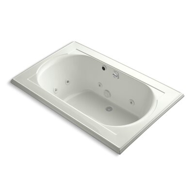 Memoirs 66 x 42 Whirlpool Bathtub Finish: Dune