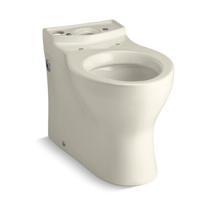 Persuade Elongated Toilet Bowl, Less Seat Finish: Almond