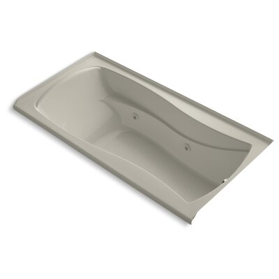 Mariposa 72 x 36 Whirlpool Bathtub Finish: Sandbar