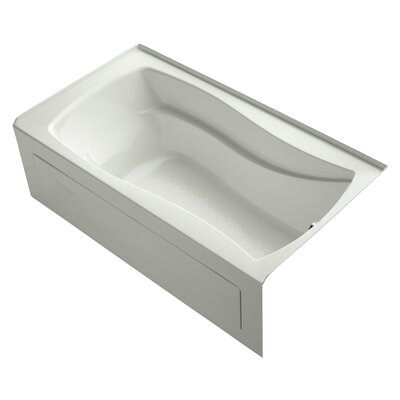 Mariposa Alcove 66 x 36 Soaking Bathtub Finish: Dune