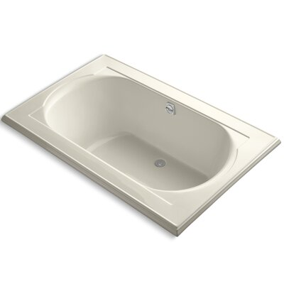 Memoirs 66 x 42 Soaking Bathtub Finish: Almond