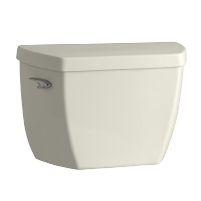 Highline Classic 1.0 GPF Toilet Tank with Left-Hand Trip Lever Finish: Biscuit