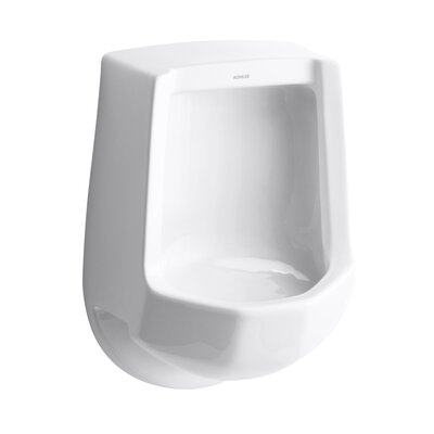 Freshman Siphon-Jet Wall-Mount 1 GPF Urinal with Rear Spud Finish: White