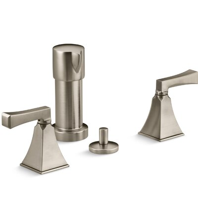 Memoirs Stately Vertical Spray Bidet Faucet with Deco Lever Handles Finish: Vibrant Brushed Bronze