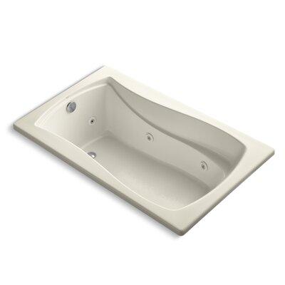 Mariposa 60 x 36 Whirlpool Bathtub Finish: Almond